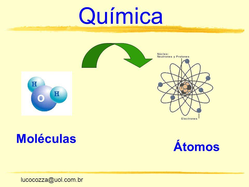 lucocozza@uol.com.br Unicamp lucocozza@uol.com.br Química Moléculas Átomos