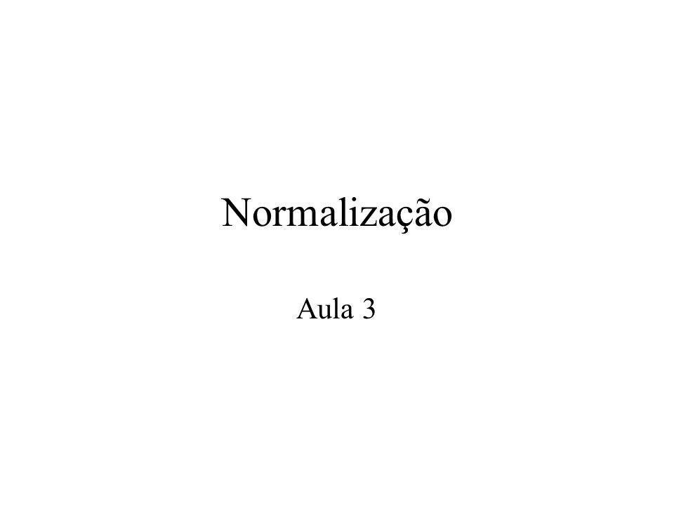 2 a Forma Normal (2FN) Para ir de um conjuntos em primeira forma para conjuntos em segunda forma precisa tirar os subconjuntos que têm dependência parcial.