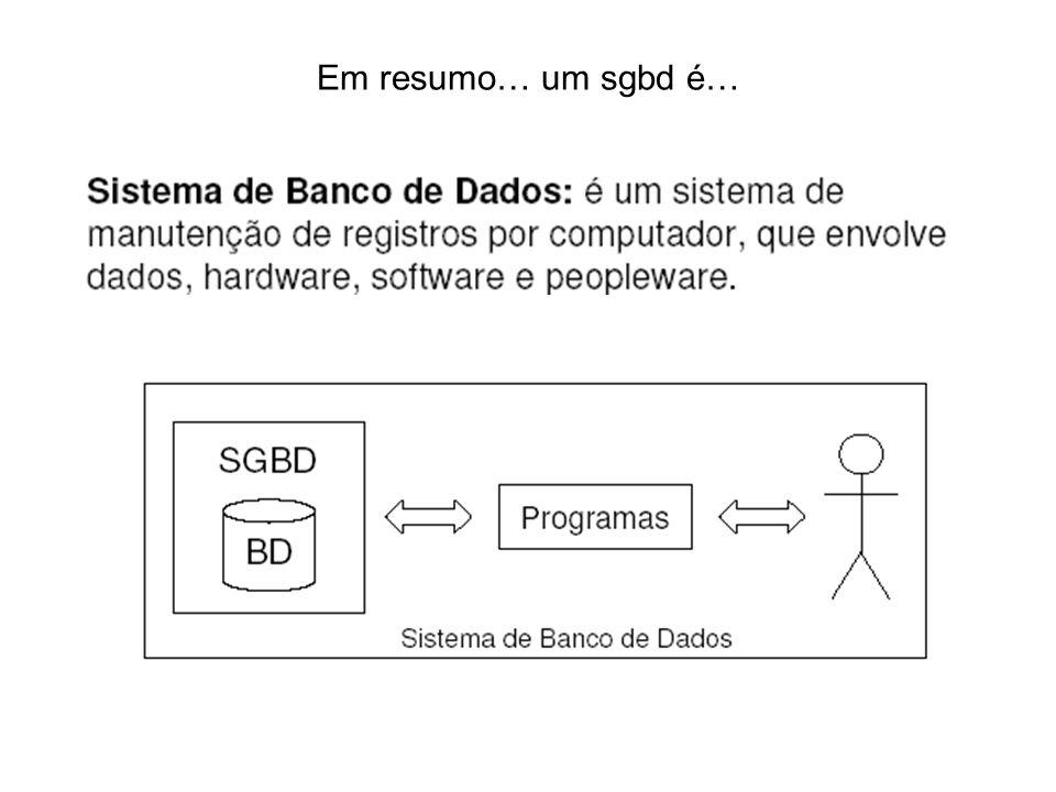 HIERARQUIA DOS DADOS Um sistema de computador organiza os dados em sequencia de hierarquia que começa com o bit,agrupados em bytes, que representa o caractere (uma letra ou digito).