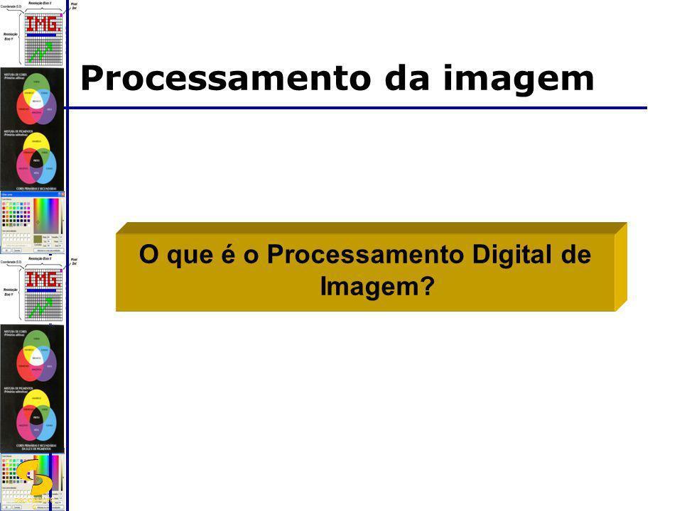 DSC/CEEI/UFC G O que é o Processamento Digital de Imagem? Processamento da imagem