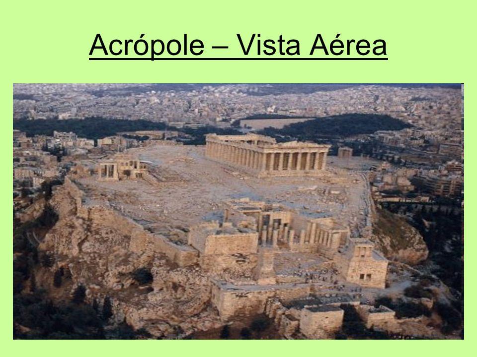 Acrópole – Vista Aérea
