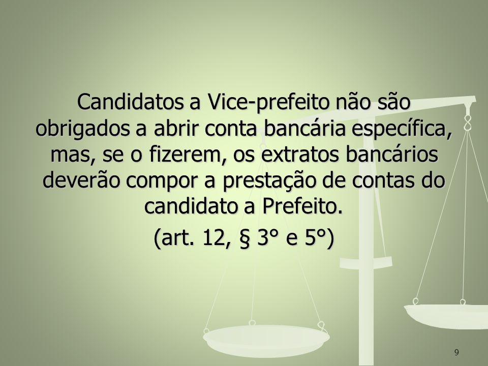 Documentos para abertura de conta – partidos políticos, comitês financeiros e candidatos: Documentos para abertura de conta – partidos políticos, comitês financeiros e candidatos: RACEP/RACE (www.tse.jus.br) RACEP/RACE (www.tse.jus.br)www.tse.jus.br CNPJ (www.receita.fazenda.gov.br) CNPJ (www.receita.fazenda.gov.br)www.receita.fazenda.gov.br Certidão de composição partidária (www.tse.jus.br) Certidão de composição partidária (www.tse.jus.br)www.tse.jus.br 10