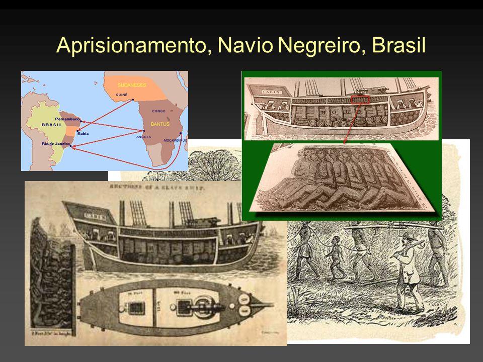Aprisionamento, Navio Negreiro, Brasil