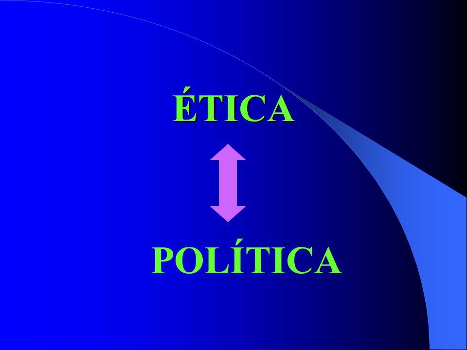 ÉTICA POLÍTICA
