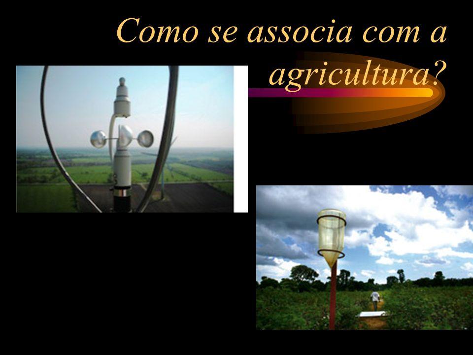 Como se associa com a agricultura?