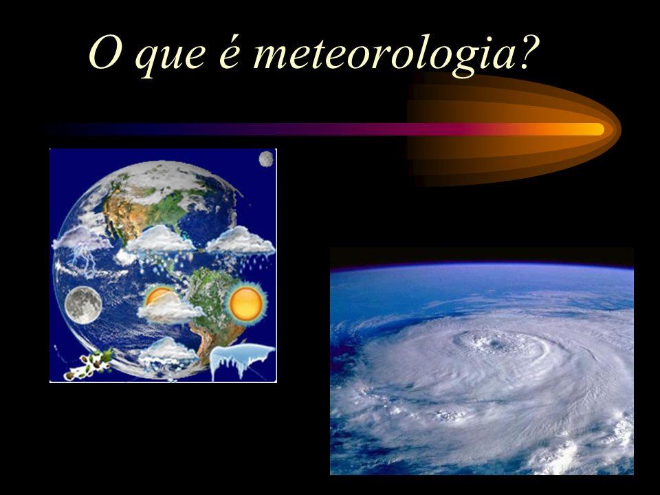 O que é meteorologia?
