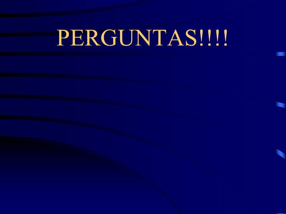 PERGUNTAS!!!!