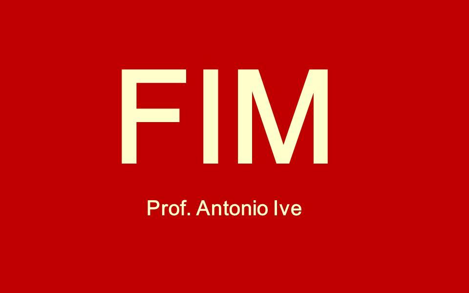 FIM Prof. Antonio Ive