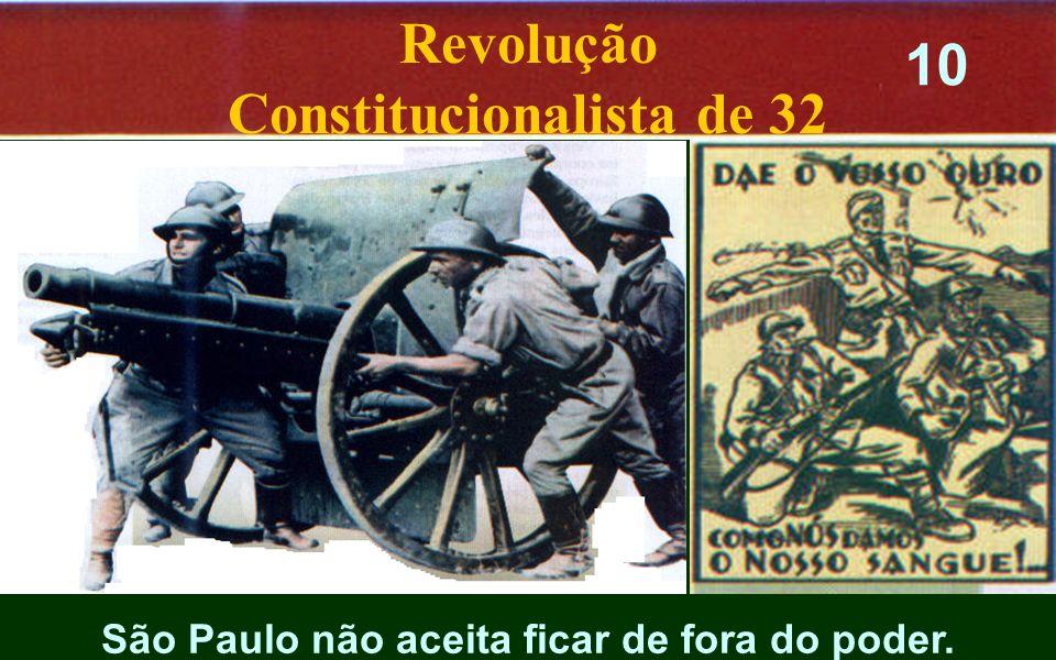 São Paulo não aceita ficar de fora do poder. Revolução Constitucionalista de 32 10