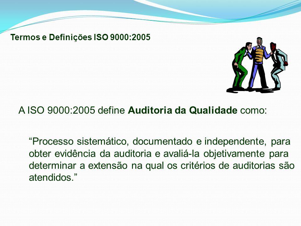 Processo sistemático, documentado e independente, para obter evidência da auditoria e avaliá-la objetivamente para determinar a extensão na qual os cr