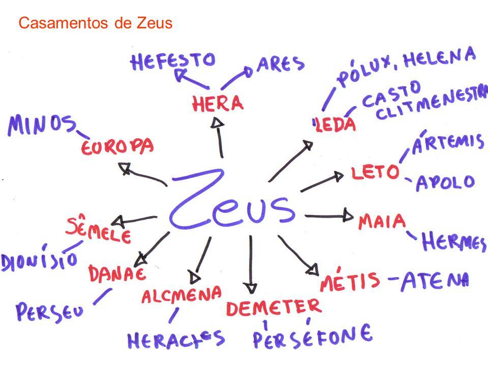 23 Casamentos de Zeus