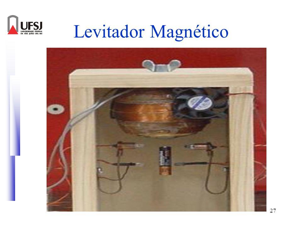 28 Levitador Magnético Circuito para o controle do levitador magnético