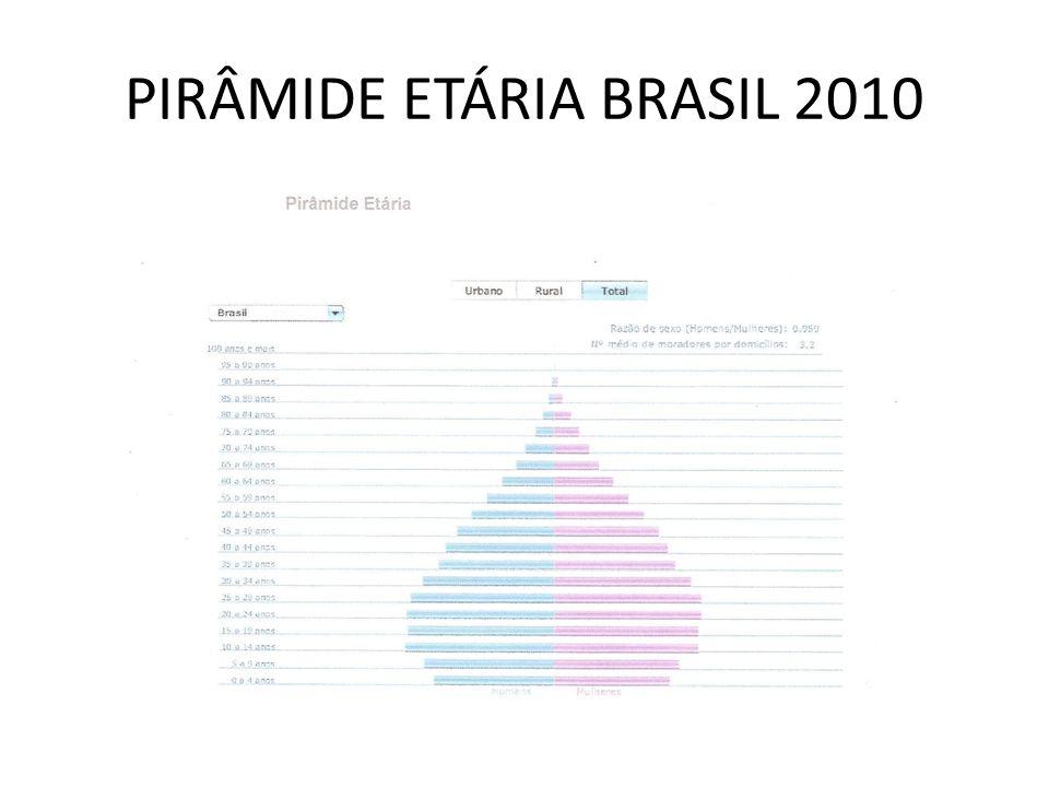 POPULAÇÃO ABSOLUTA CIDADE DE SÃO PAULO 11.244.369 habitantes em 2010 (eram 10.434.252 em 2000) 5.323.385 HOMENS 5.920.984 MULHERES 11.125.243 ou 99,1% habitantes em zona urbana 119.126 0,9% habitantes em zona rural