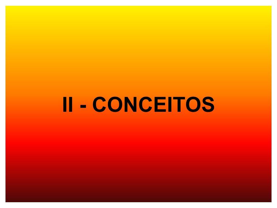 II - CONCEITOS