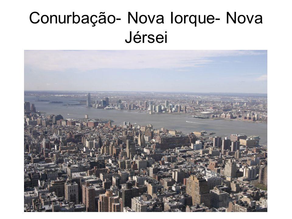 Conurbação- Nova Iorque- Nova Jérsei