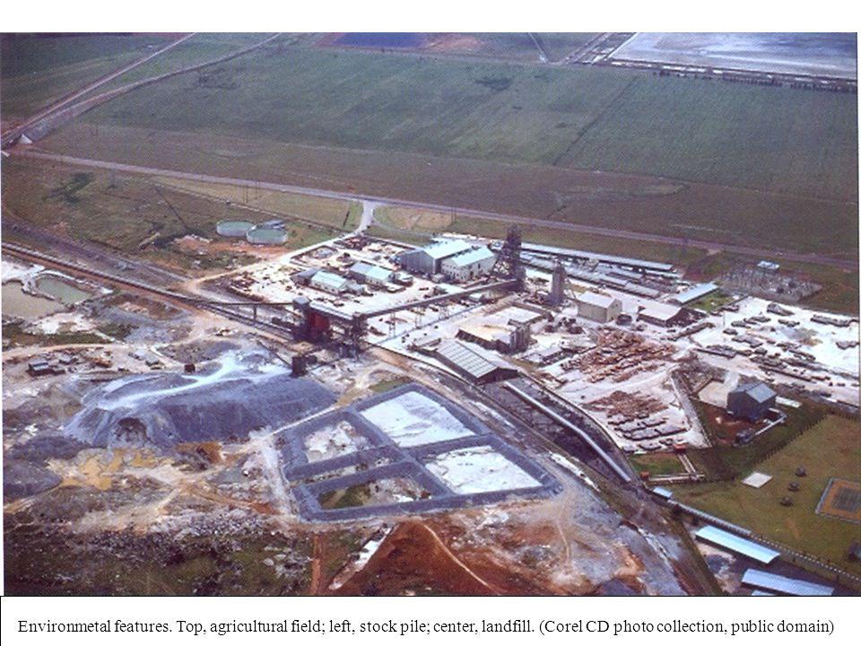 UERJ – Março 2008 © Oscar Luiz Monteiro de Farias12 Exemplos de Unidades Representativas Environmetal features. Top, agricultural field; left, stock p