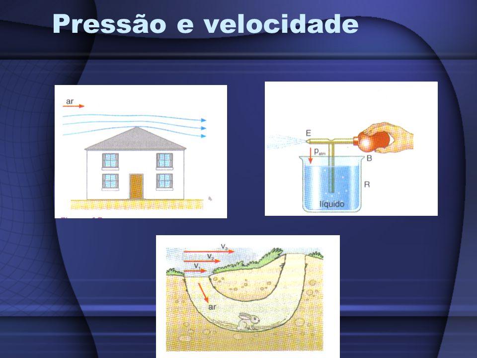 Pressão e velocidade