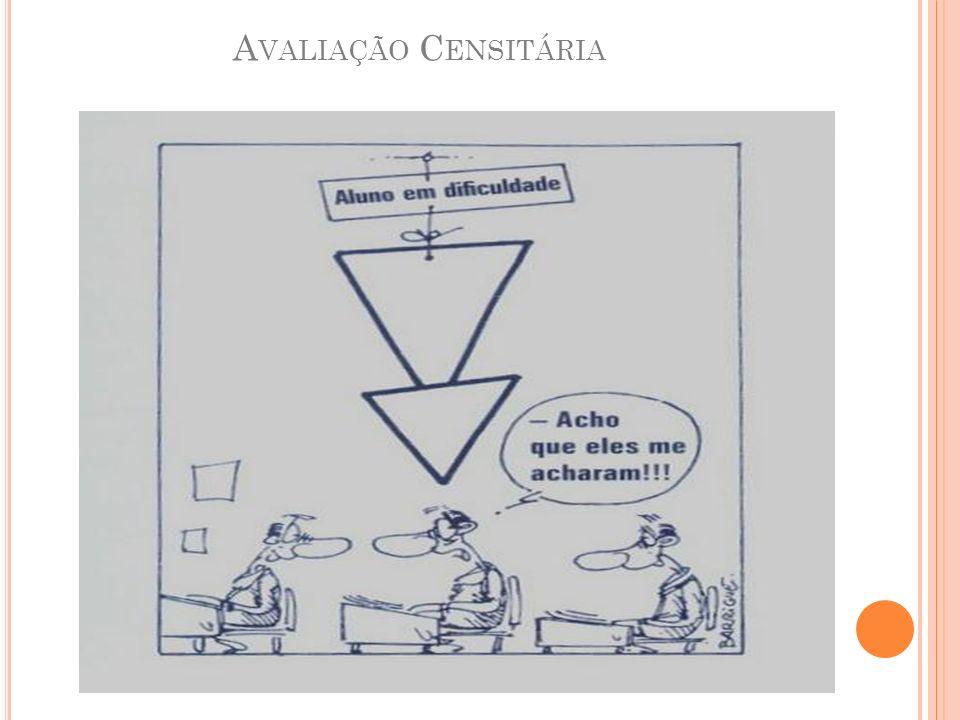 A VALIAÇÃO C ENSITÁRIA