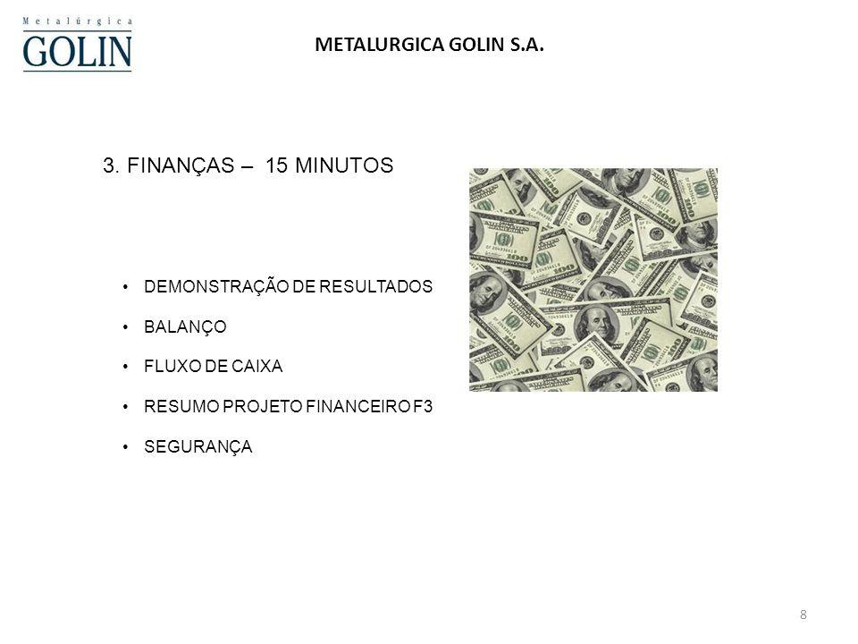 SEGURANÇA -ACIDENTES – 2010