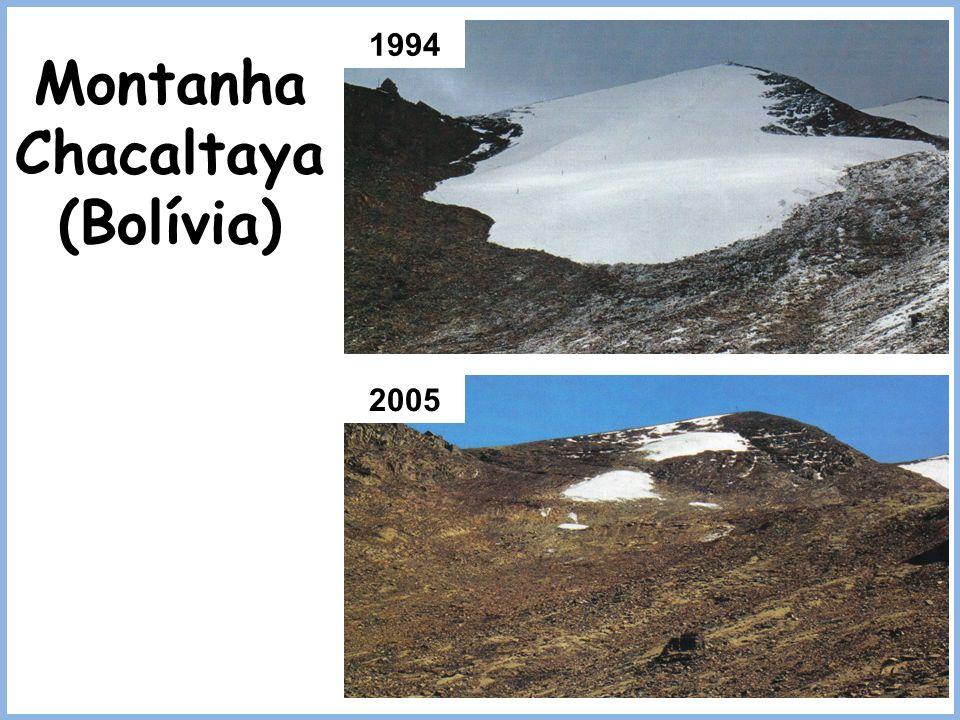 1994 2005 Montanha Chacaltaya (Bolívia)