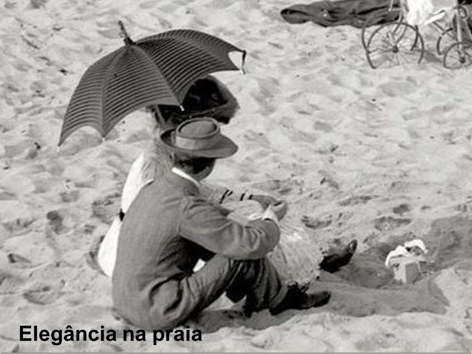 Tem de tudo na praia!...
