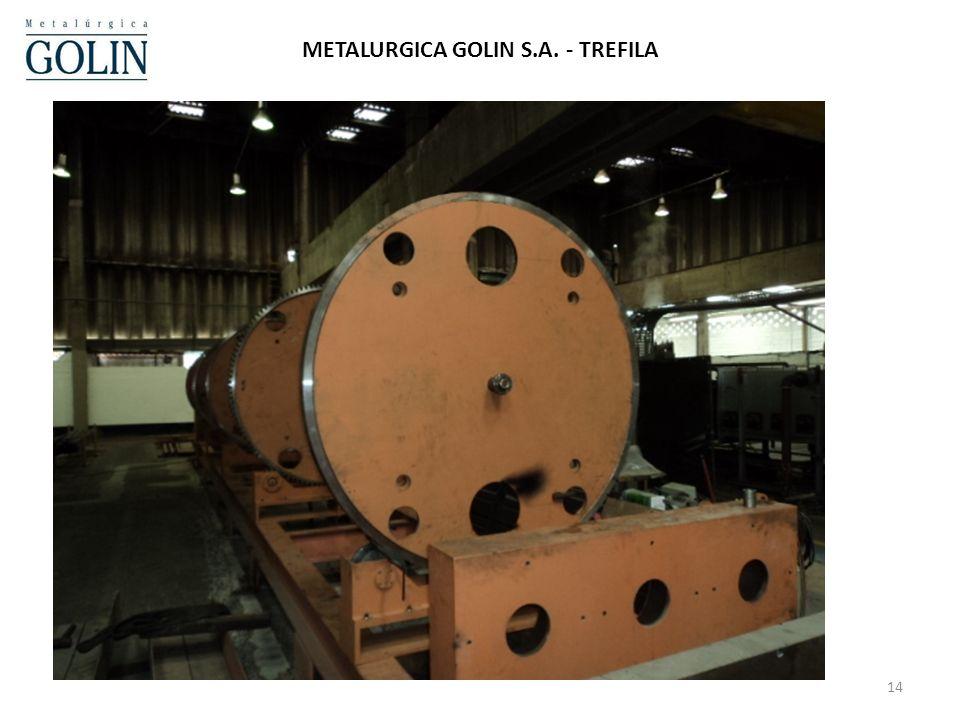 14 METALURGICA GOLIN S.A. - TREFILA