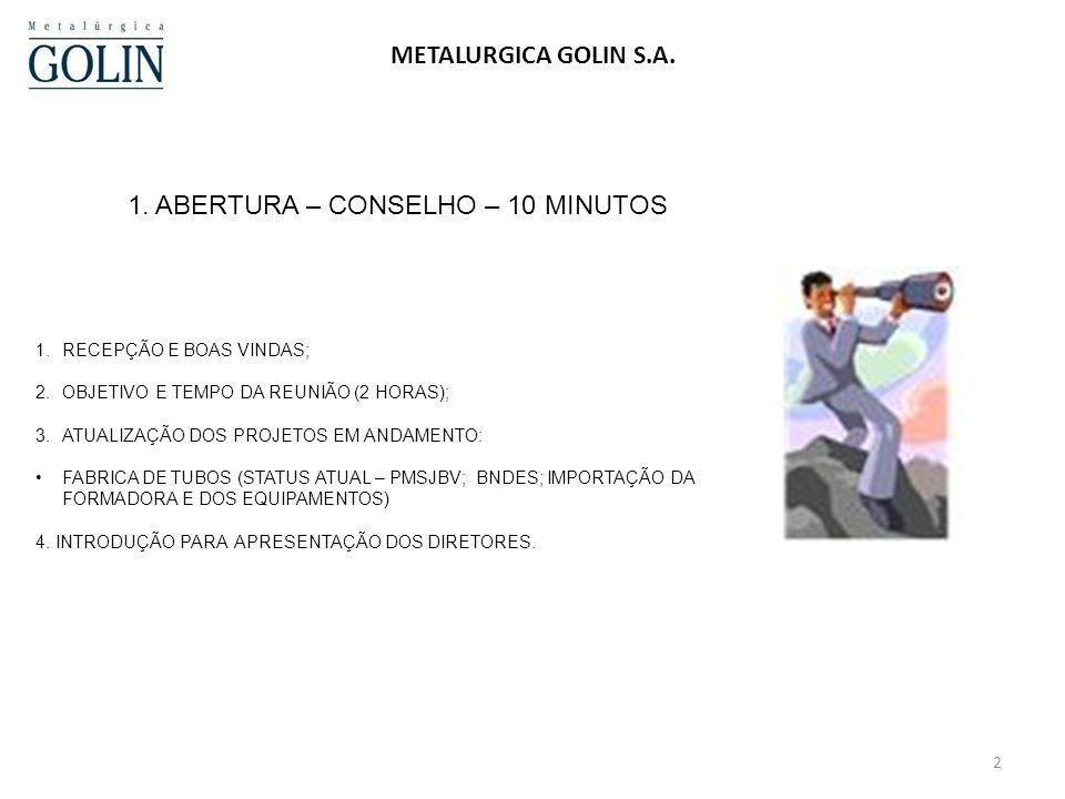 2 METALURGICA GOLIN S.A.1.