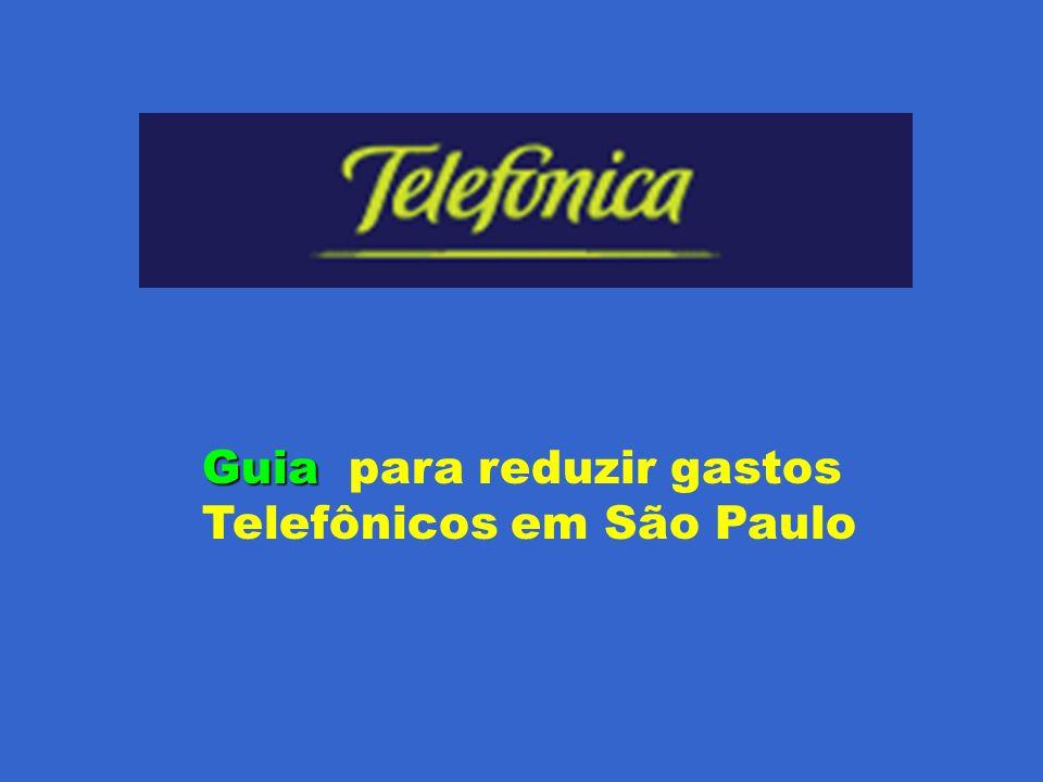 Este guia tem o intuito de ajudar aos usuários da Telefônica em São Paulo economizar suas tarifas.