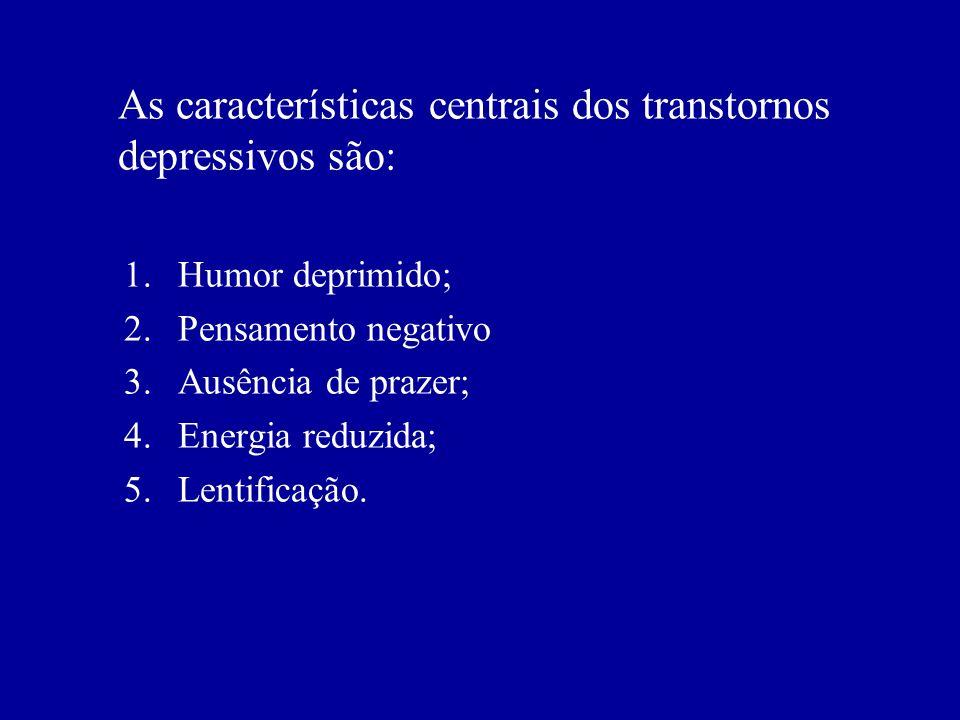 Distúrbios dos afetos e emoções Humor: definido como o tônus afetivo do indivíduo, o estado basal e difuso no qual se encontra a pessoa em determinado