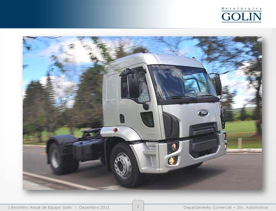 I Encontro Anual de Equipe Golin | Dezembro 2011Departamento Comercial – Div. Automotiva 2
