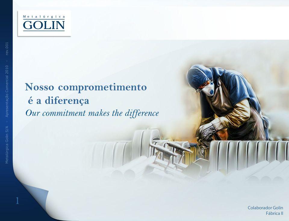 1 Nosso comprometimento é a diferença Our commitment makes the difference