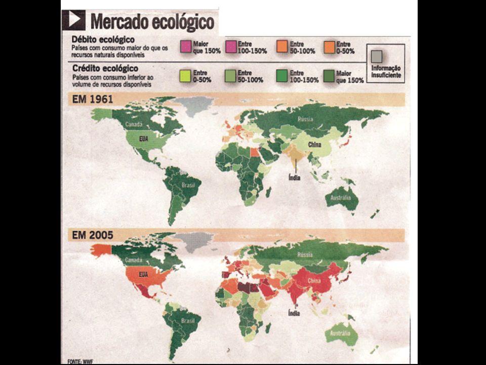 Degradamos a partir, portanto, das necessidades básicas até a crise que se dá na resiliência do ambiente (em ecologia, resiliência, é a capacidade de um determinado ecossistema de retomar sua forma original após uma perturbação.