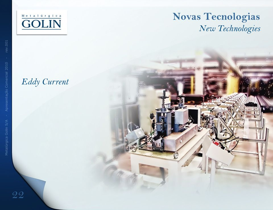 Eddy Current Novas Tecnologias New Technologies 22