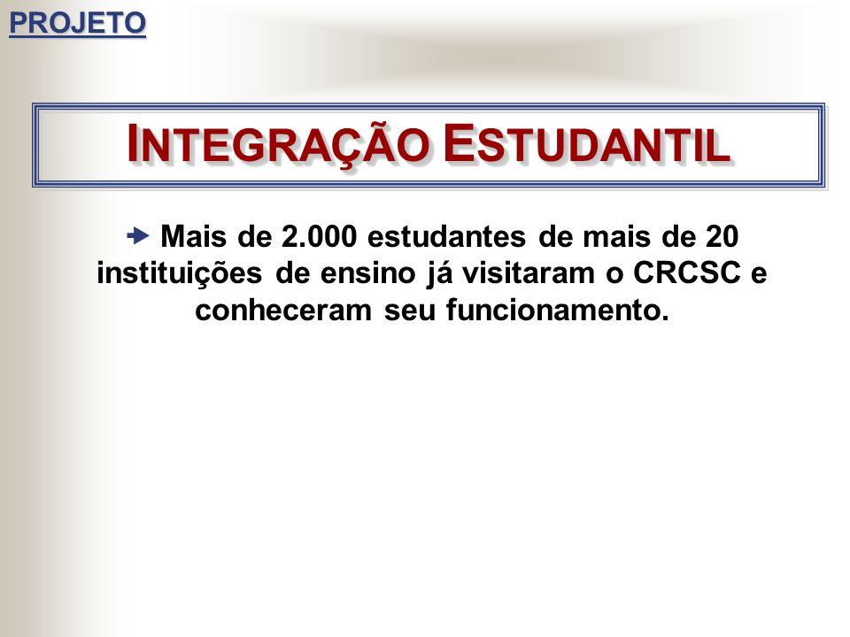 Em 2005 foram concluídas duas turmas de cursos de Especialização oferecidas em convênio com o CRCSC/CFC e foram iniciados cinco novas turmas: Controla