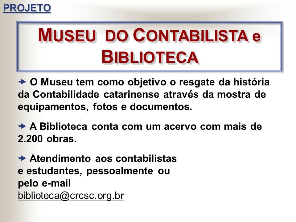JORNAL DO CRCSC COLUNA CRCSC, publicada quinzenalmente no Diário Catarinense PÁGINA NA INTERNET www.crcsc.org.br D IVULGAÇÃO D IVULGAÇÃOPROJETO BOLETI