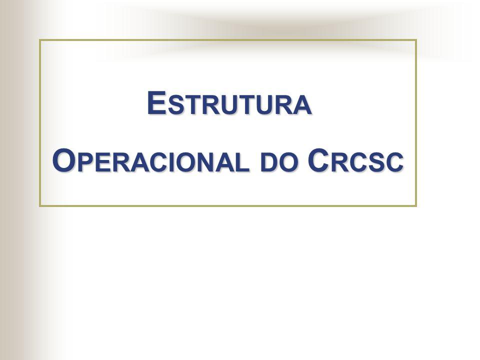 O E nsino da C ontabilidade V alorização P rofissional C apacitação P rofissional E strutura do CRCSC
