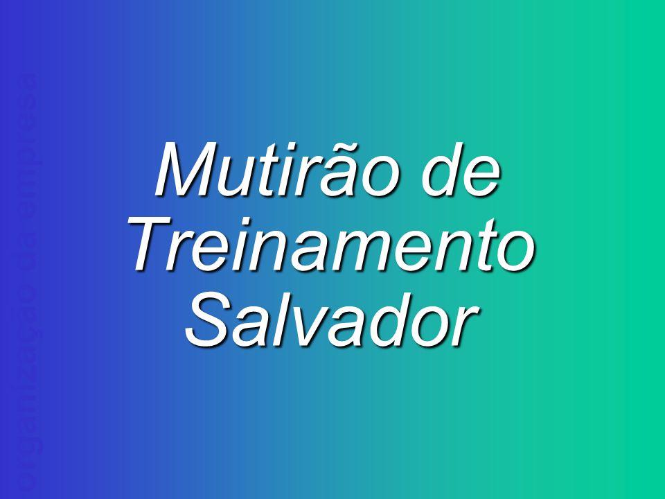 organização da empresa Mutirão de Treinamento Salvador