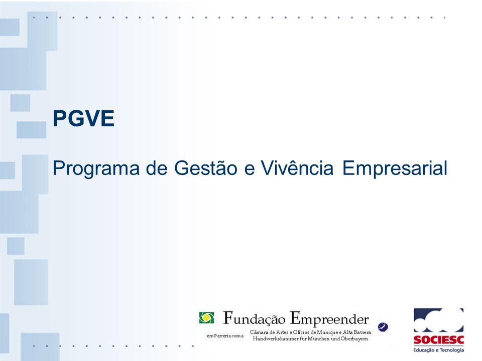 PGVE Programa de Gestão e Vivência Empresarial