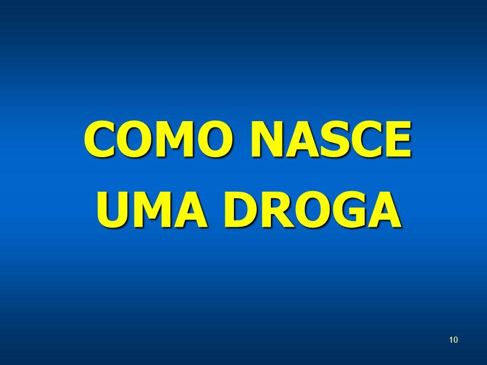 10 COMO NASCE UMA DROGA