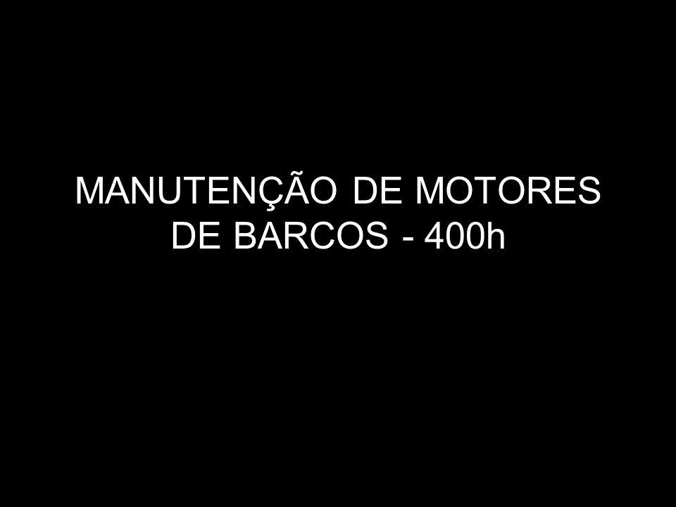 MANUTENÇÃO DE MOTORES DE BARCOS - 400h