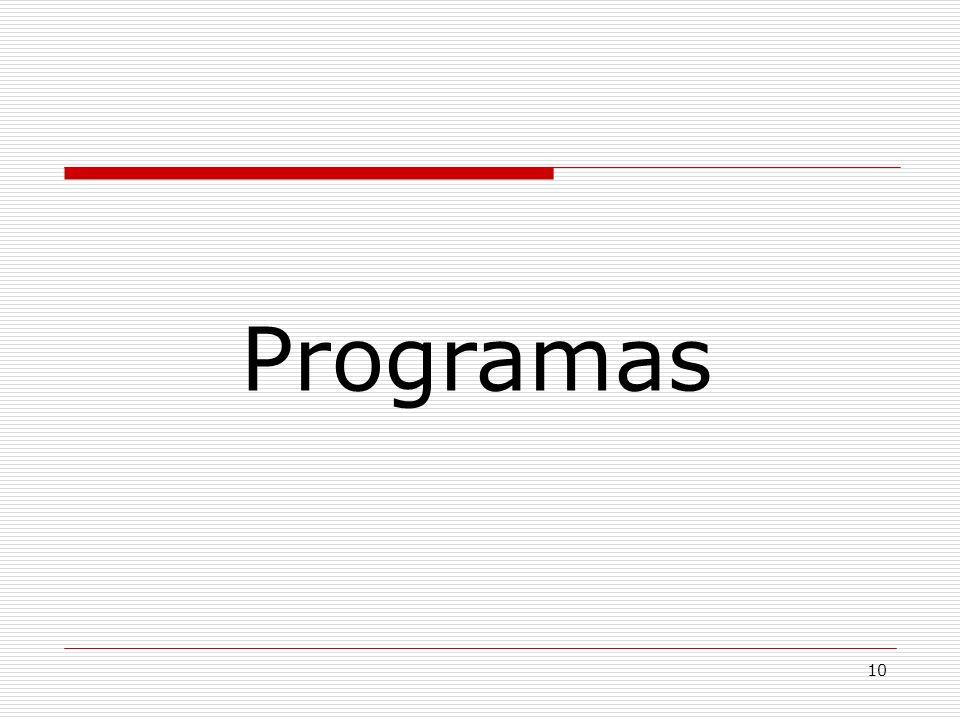 10 Programas