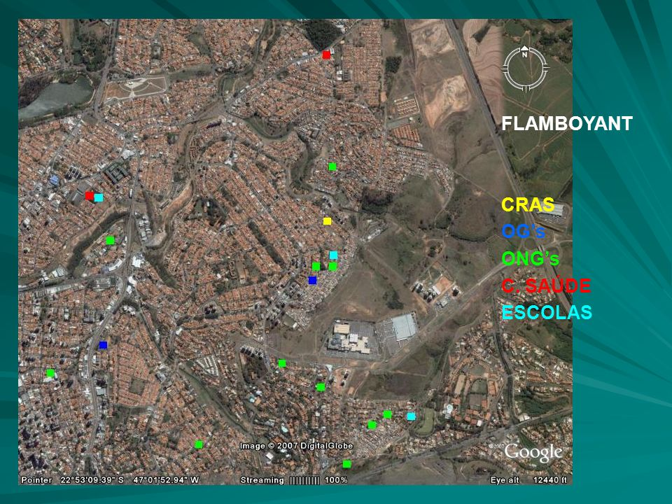 FLAMBOYANT CRAS OGs ONGs C. SAÚDE ESCOLAS