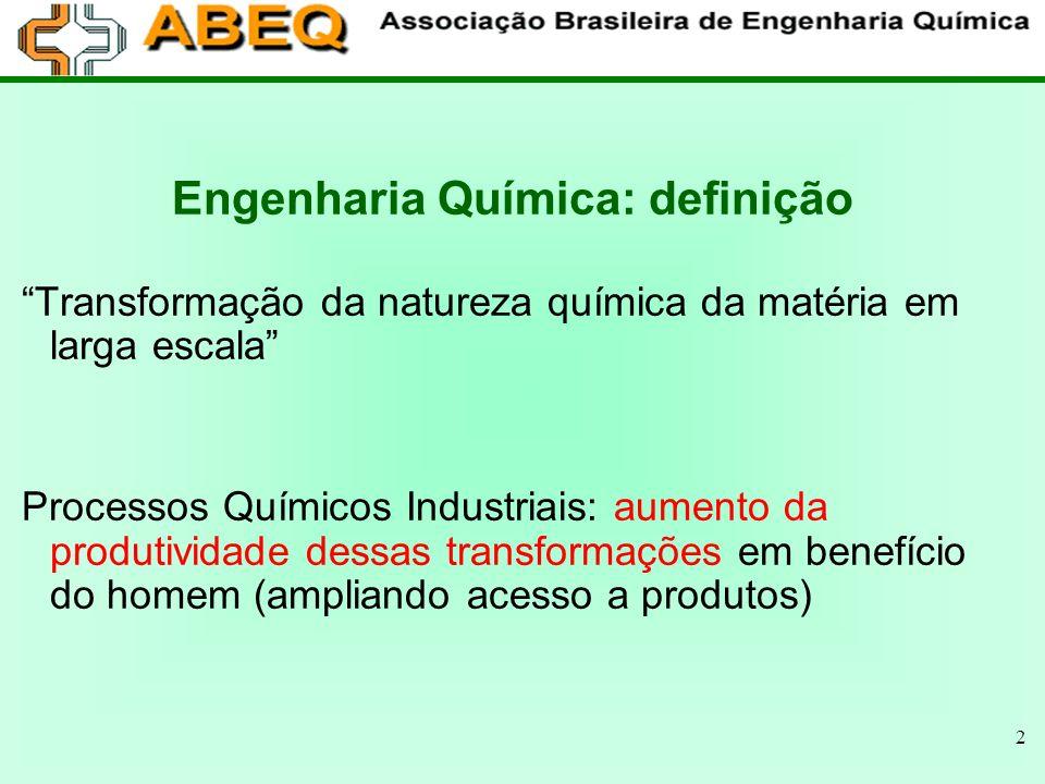 13 CURRICULA DOS CURSOS DE EQ Duração dos Cursos de Engenharia Química (Semestre) Prevista9,4 Média10,4 Forma Seriada35% Créditos65% ENBEQ 2005