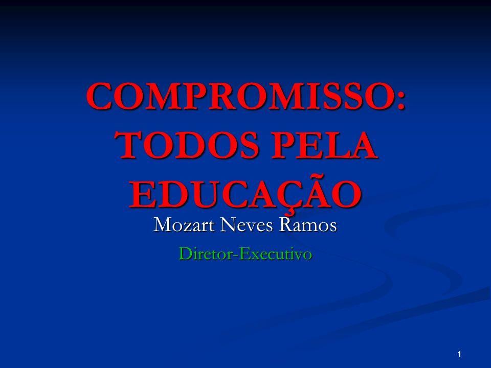1 COMPROMISSO: TODOS PELA EDUCAÇÃO Mozart Neves Ramos Diretor-Executivo
