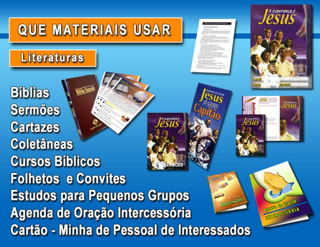 Durante a SemanaCada membro preencherá 1- O cartão de interessados 2- Meu pacto 3- O líder estudará o Guia de Evangelismo