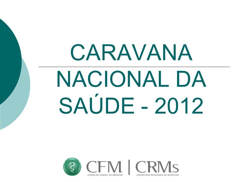 CARAVANA NACIONAL DA SAÚDE - 2012