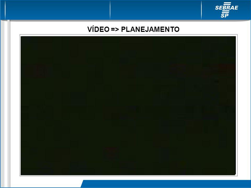 VÍDEO => PLANEJAMENTO