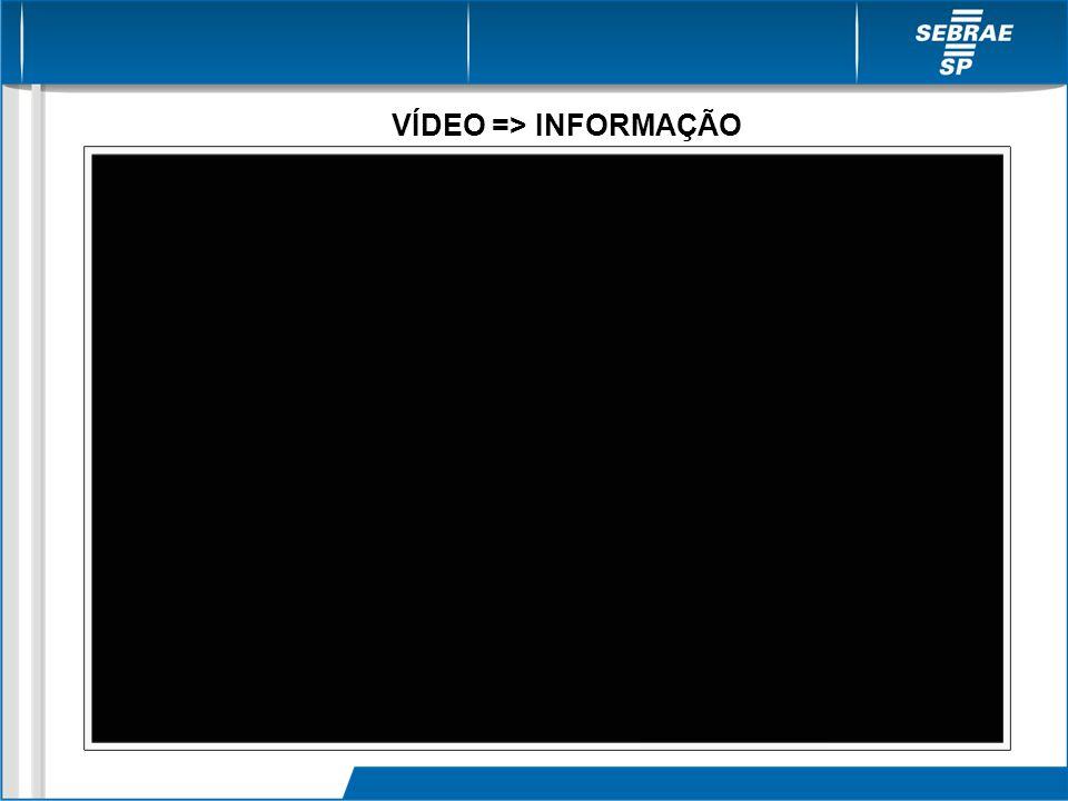 VÍDEO => INFORMAÇÃO