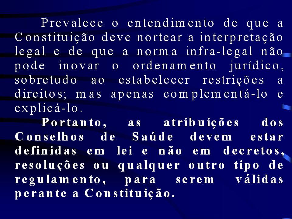 Determinação 9.5: Determinar ao Conselho Estadual de Saúde do Rio de janeiro e aos Conselhos Municipais de Saúde do Rio de Janeiro, Belford Roxo, Duque de Caxias, Nova Iguaçu e São João de Meriti que, no âmbito de suas competências: 9.5.1.