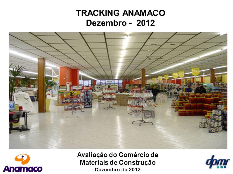 TRACKING ANAMACO Dezembro - 2012 Avaliação do Comércio de Materiais de Construção Dezembro de 2012